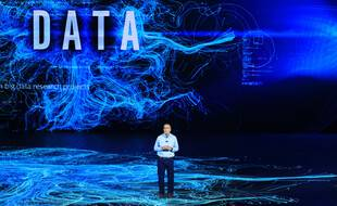 Conférence sur les données à Las Vegas (illustration data).