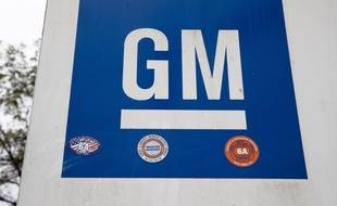 Le logo de General Motors.