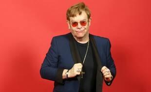 Elton John en mai 2021.