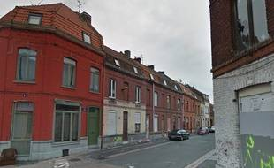 La rue Desaix, à Roubaix, où réside la famille Godefroy.