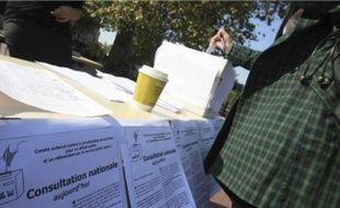Le vote est ouvert jusqu'au 3 octobre, les résultats seront connus deux jours plus tard.