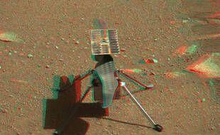 Ingenuity, l'hélicoptère de la Nasa a finalement pris son envol sur la planète Mars ce lundi 19 avril 2021.