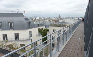 La future terrasse de Netflix dans le 9e arrondissement