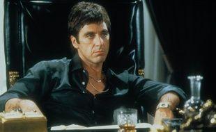 Le film Scarface avec Al Pacino.