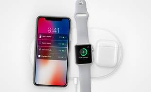AirPower, le tapis de recharge par induction d'Apple, a été annoncé en septembre 2017.