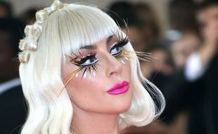 La chanteuse Lady Gaga au Met Gala 2019