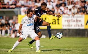 Presnel Kimpembe lors d'un match amical du PSG à Vienne le 12 juillet 2015.