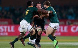Louis Picamoles face à l'Afrique du Sud