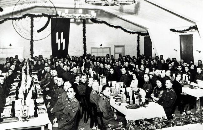 648x415 gardes ss camp concentration neuengamme celebrent noel 1943 allemagne abandonne poursuites contre friedrich karl berger jeudi 10 decembre 2020