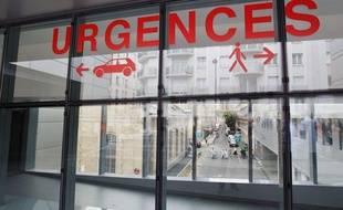 Illustration entrée des urgences à l'hôpital Tenon, Paris.