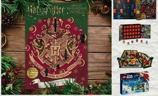 Les calendriers de l'Avent « Harry Potter » Cinereplicas, « Game of Thrones » Target, Marvel Funko et «Friends» et « Star Wars» Lego.