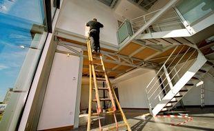 Des travaux de rénovation énergétique dans un logement (illustration).