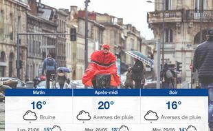Météo Bordeaux: Prévisions du dimanche 26 mai 2019