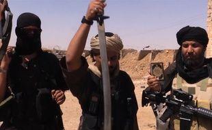 Des djhiadistes de l'Etat islamique en Syrie