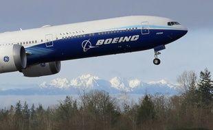 Un avion de Boeing. (illustration)