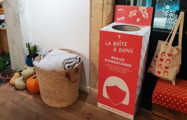 Bordeaux: Un point de collecte de produits d'hygiène intime pour les femmes sans-abri
