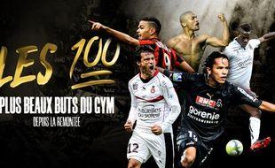 Top 100 des plus beaux buts de l'OGC Nice depuis la remontée