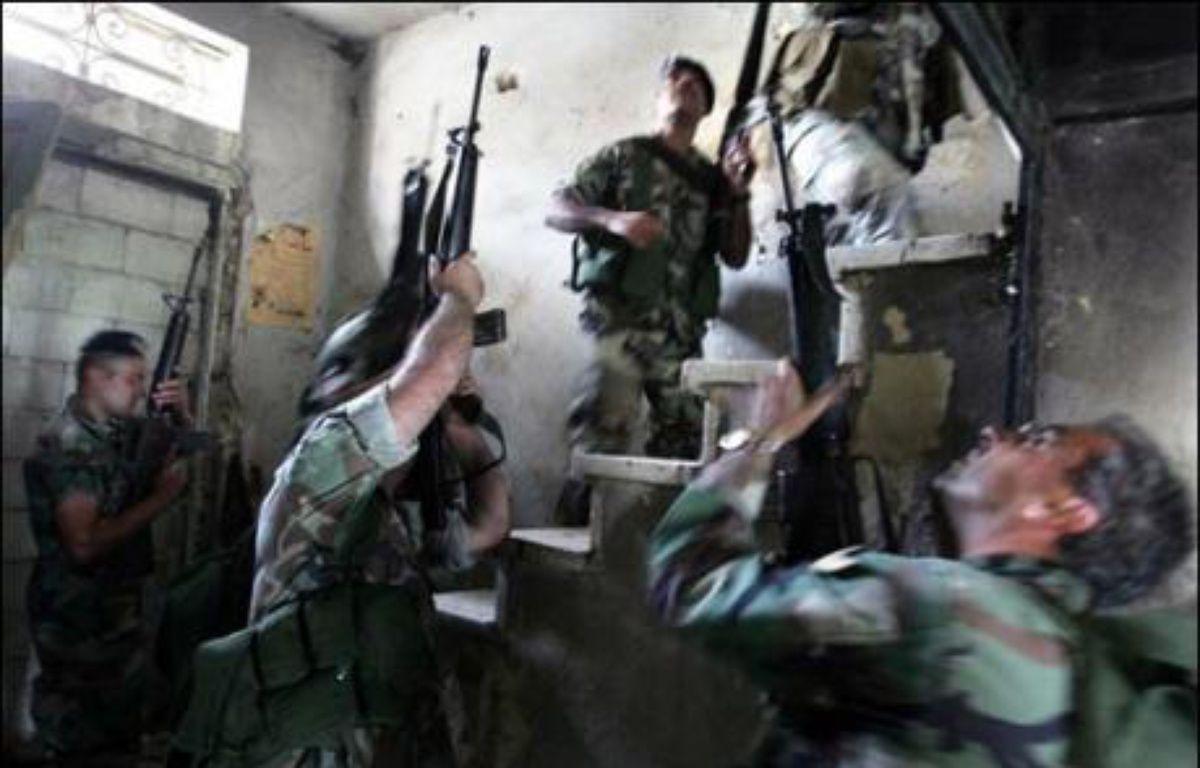 Des échanges de tirs entre combattants islamistes et soldats libanais avaient éclaté dans la nuit à Tripoli ainsi qu'aux abords du camp, où le Fatah al-Islam avait annoncé en novembre 2006 sa création – Ramzi Haidar AFP