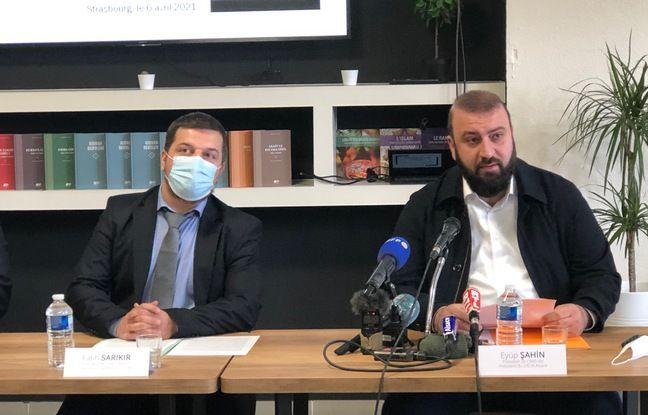 Fatih Sarikir (à gauche) et Eyup Sahin (à droite) ce mardi.