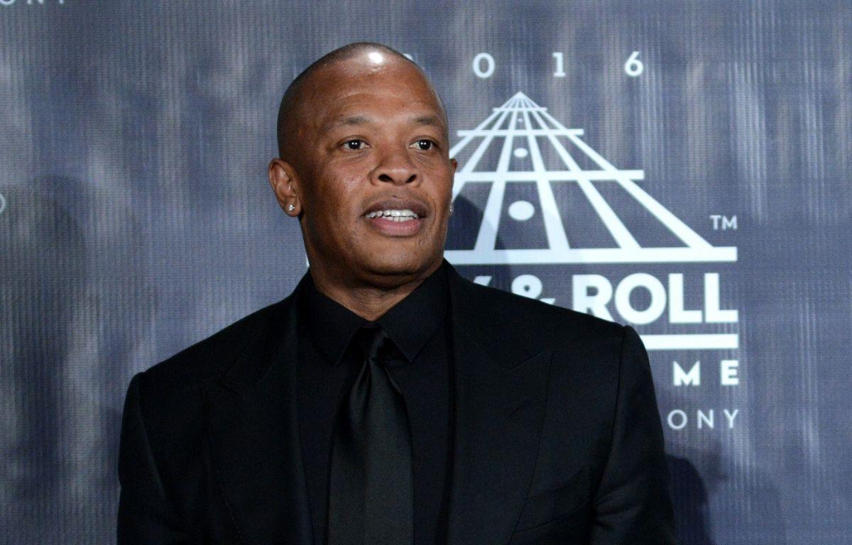 Dr. Dre lors d'une cérémonie au Rock And Roll Hall Of Fame en avril 2016 – Wenn