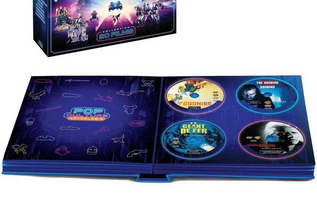 Le coffret Pop Culture Anthology