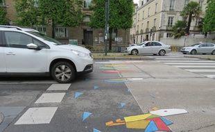 Sur le boulevard de la Liberté à Rennes, la famille canard a désormais la priorité.