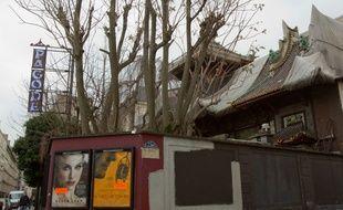 La Pagode, mythique cinéma d'art et essai parisien, fermera ses portes mardi soir après plus de 80 ans d'existence.