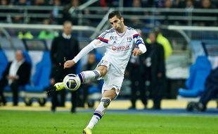 Maxime Gonalons au Stade de France, Saint Denis, France,19 04 2014/COLLOT_1230.45/Credit:Henri Collot/SIPA/1404231337