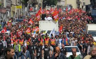 La manifestation du 17 mai.