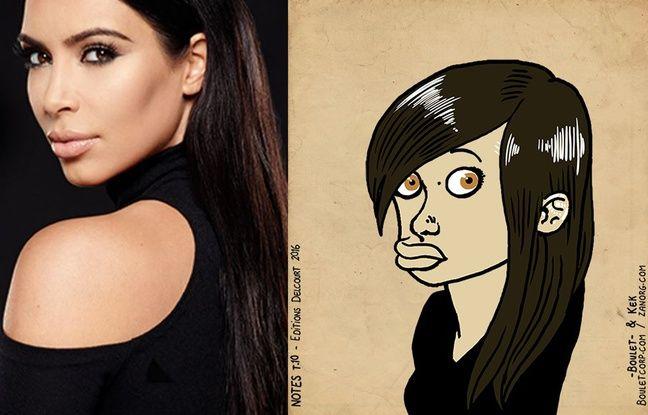 Kim Kardashian façon «Bouletmaton» - Photomontage 20MINUTES