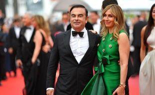 La femme de Carlos Ghosn se dit