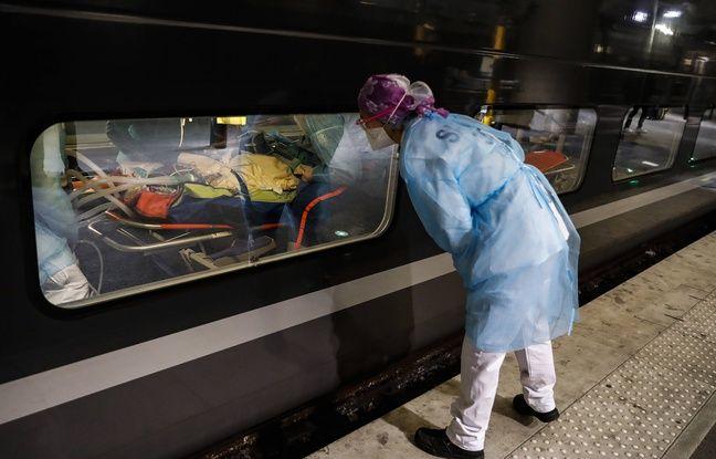 Deux TGV vont quitter la gare d'Austerlitz ce mercredi 1er avril 2020 pour transférer des malades du coronavirus vers les hôpitaux de Bretagne.
