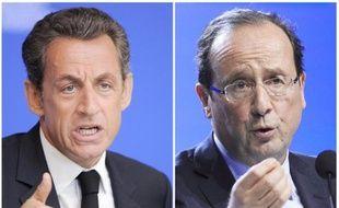 Nicolas Sarkozy perd un point d'intentions de vote au premier tour de la présidentielle par rapport au 19 février, à 26%, tandis que François Hollande, toujours en tête, est stable à 29%, selon une enquête OpinionWay-Fiducial.