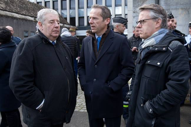Les relations sont tendues entre le maire sortant de Besançon, Jean-Louis Fousseret (à gauche) et le député Eric Alauzet qui veut lui succéder aux municipales de mars 2020 (à droite), tous deux membres de LREM.