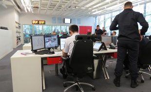 La plateforme des appels d'urgence est située à la caserne Champerret (17e)