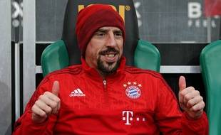 Franck Ribéry au top.