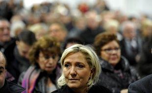 Marine Le Pen à Hénin-Beaumont le 4 décembre 2016.