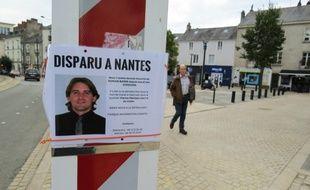 La place Sainte-Elisabeth à Nantes où Romain Barré a été vu pour la dernière fois.