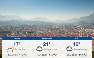 Météo Grenoble: Prévisions du samedi 20 avril 2019