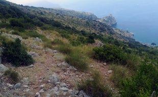 Voici une partie de la zone où est recherché Simon Gautier, le randonneur français introuvable depuis plus d'une semaine.
