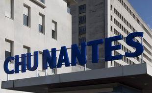 La facade du CHU de Nantes