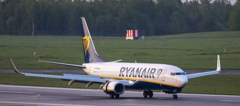 La compagnie Ryanair se plaint de ne pas comprendre le système de restrictions imposé par le Gouvernement brittanique (illustration).