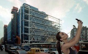 S'il était inauguré en 2017 et non en 1977, le Centre Pompidou aurait sans doute eu les honneurs d'un selfie de Kim Kardashian