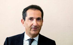 Patrick Drahi, propriétaire de l'opérateur télécoms SFR, auditionné par le Sénat le 8 juin 2016 à Paris