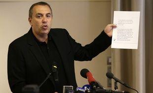 Jean-Marc Morandini, lors de sa conférence de presse mardi 19 juillet.