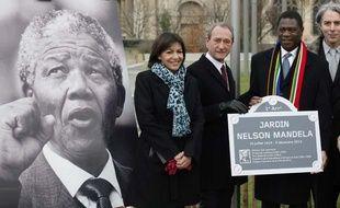 Le jardin Mandela a été inauguré le 19 décembre 2013