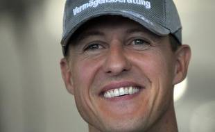 Michael Schumacher au Grand Prix de  F1 de Suzuka (Japon), le 9 octobre 2010.