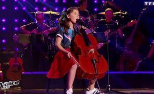 Leelou, 11 ans, candidate de la saison 4 de «The Voice Kids».