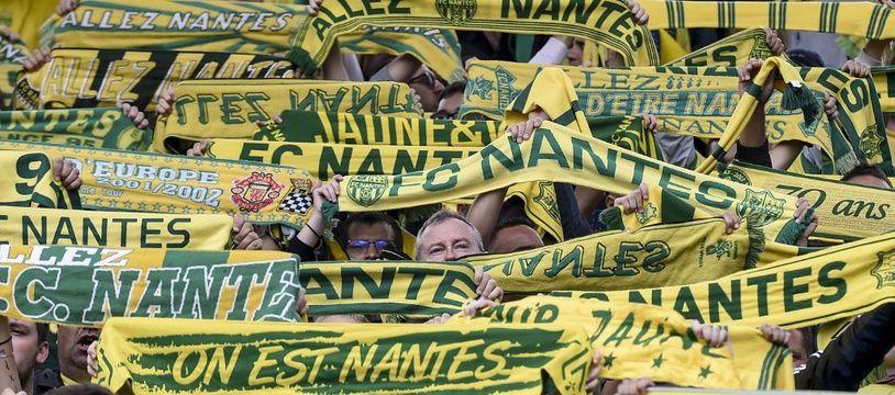Des supporteurs du FC Nantes.