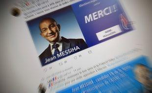 Jean Messiah (FN) était candidat dans l'Aisne.